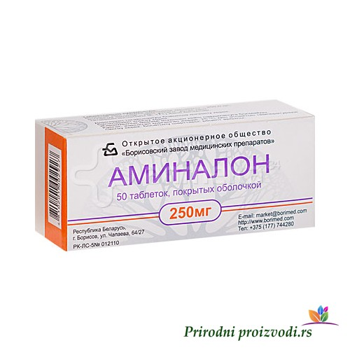 AMINALON 50 tableta
