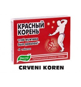 CRVENI KOREN 40 tableta