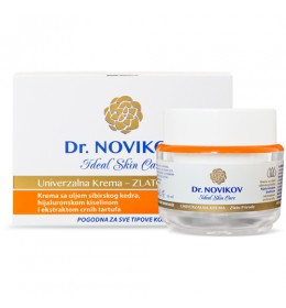 Dr. Novikov Ideal skin care - univerzalna krema Zlato prirode 50ml